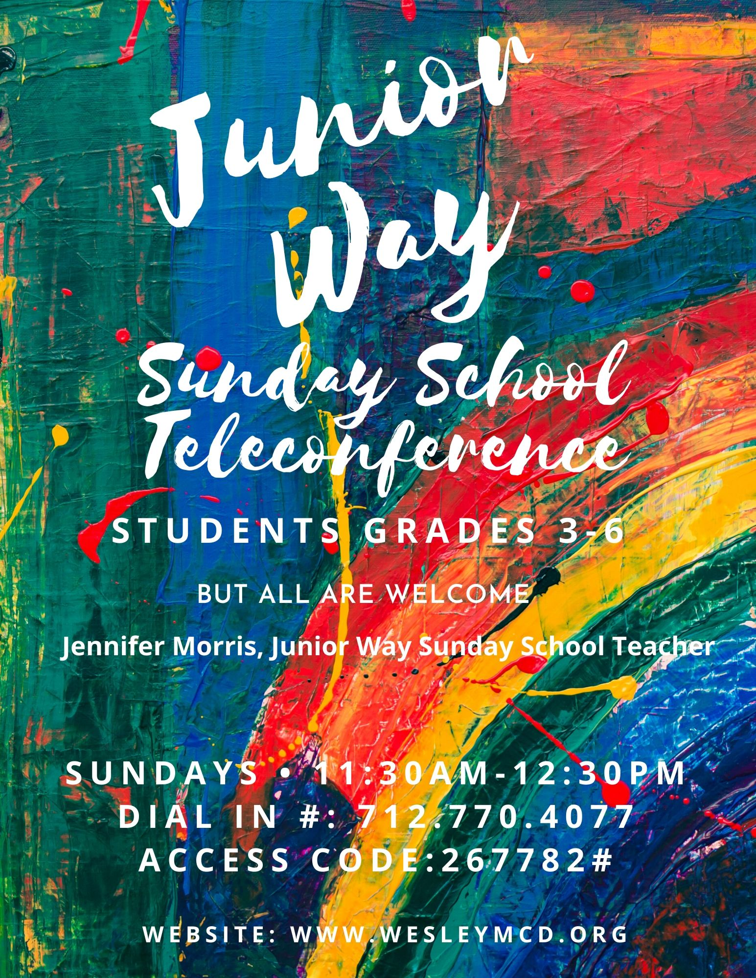 Junior Way Sunday (1) image