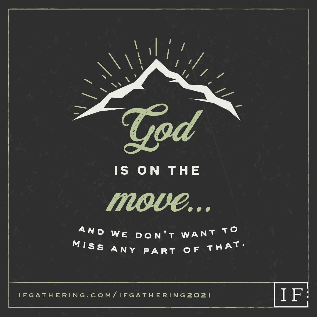 IF God is on the move