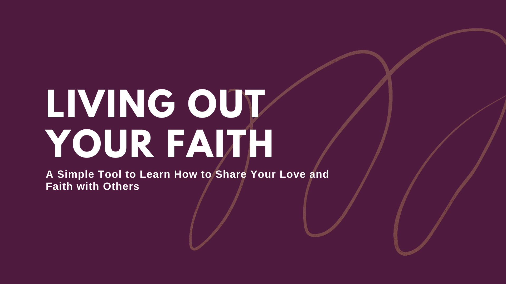 living out your faith (1) image