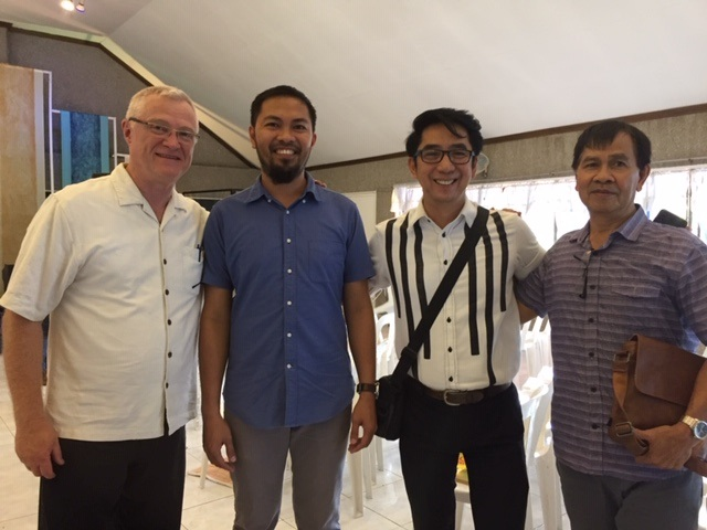Philippine BBCC with Pastor Derrick and 2 Elders
