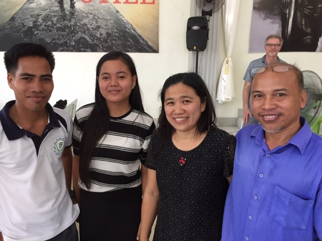 Philippines Pastor Adam, wife Benita with their two timothies, James and Grace.JPG