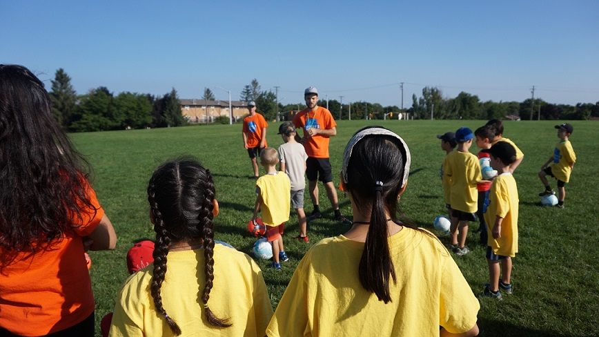 sports camp small