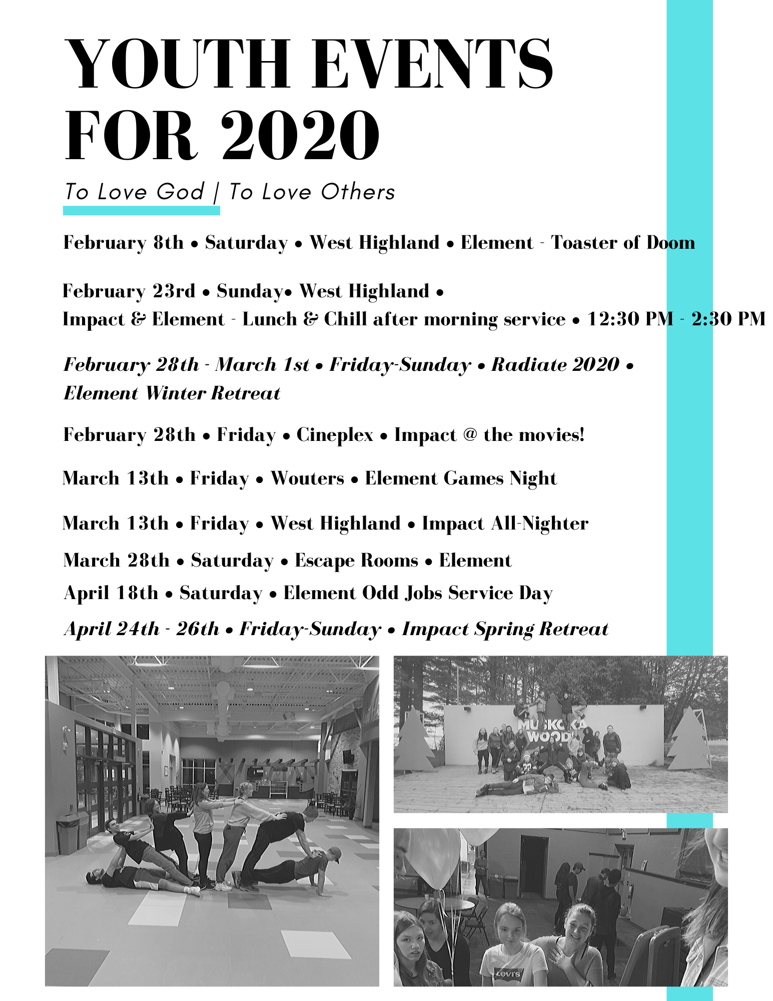 Youth Events for 2020 (v3)