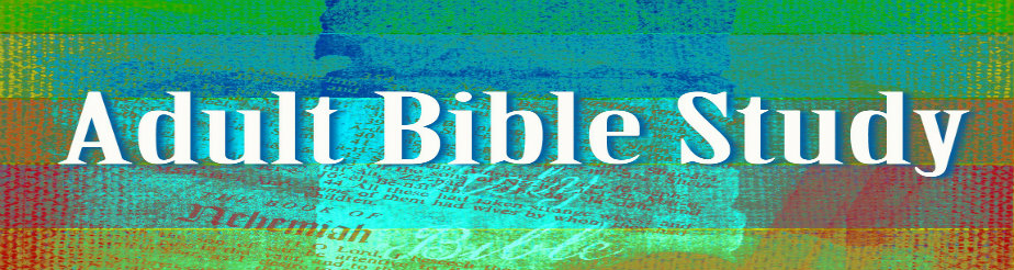 Adult Bible Study   banner
