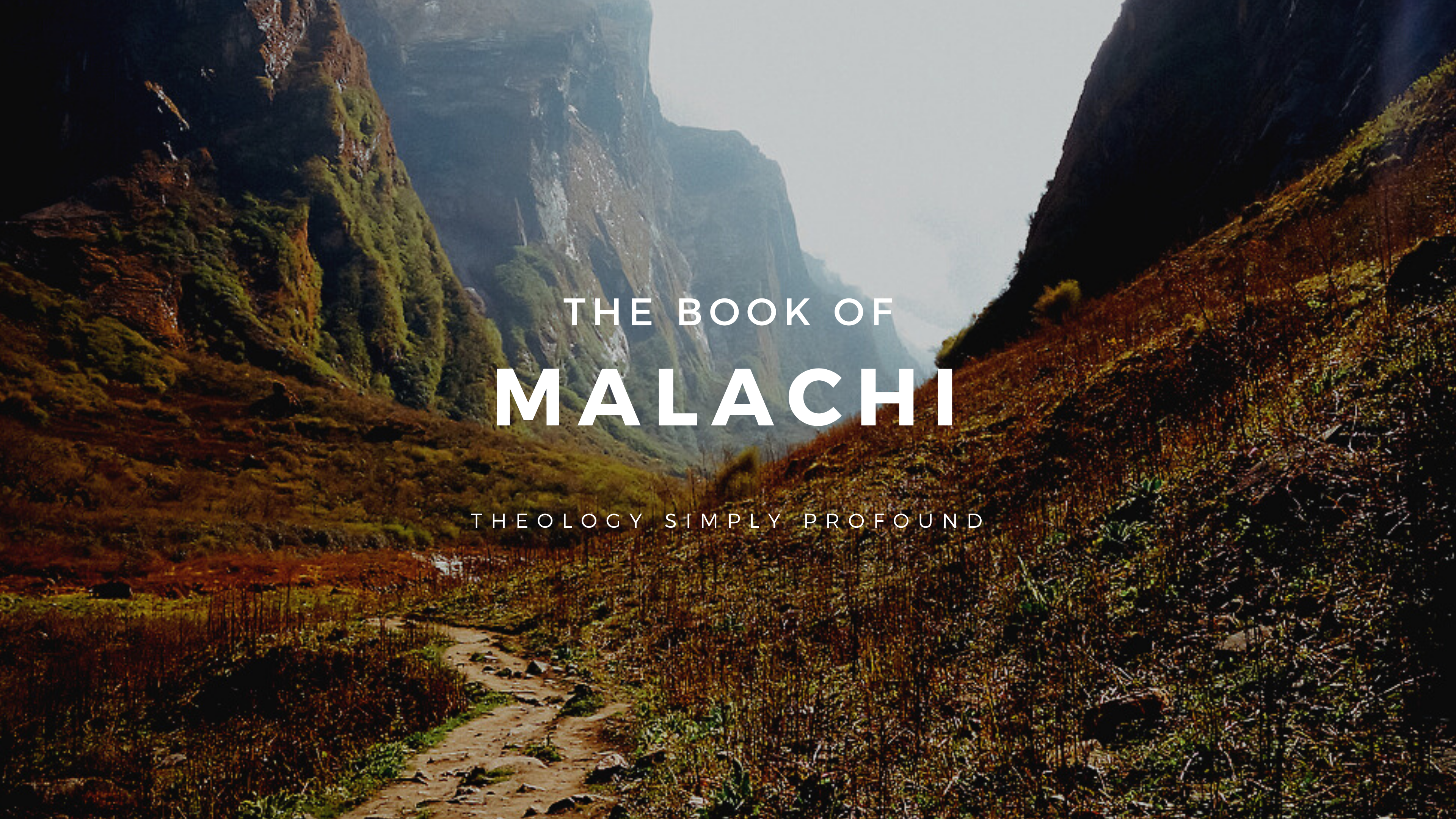 The Book of Malachi banner