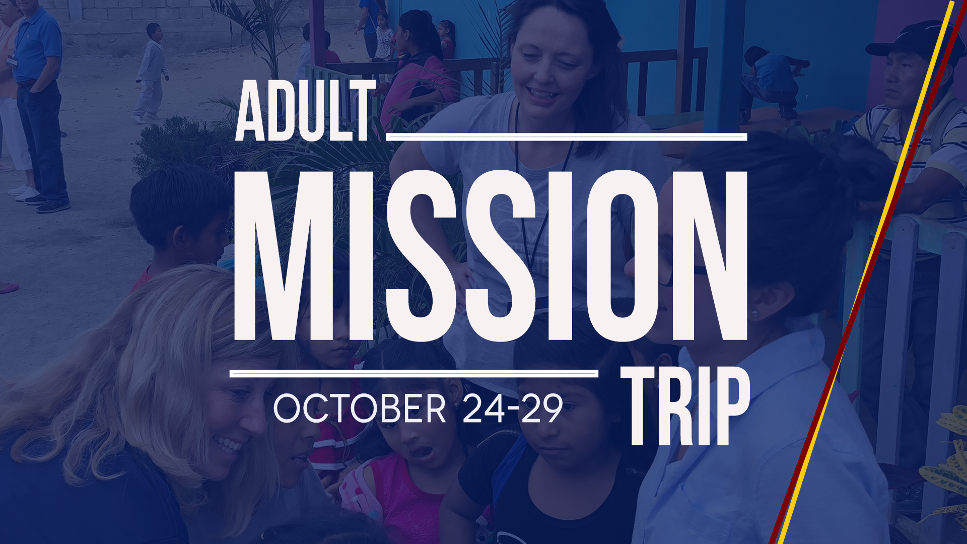 2019 mission trip slide no meeting image