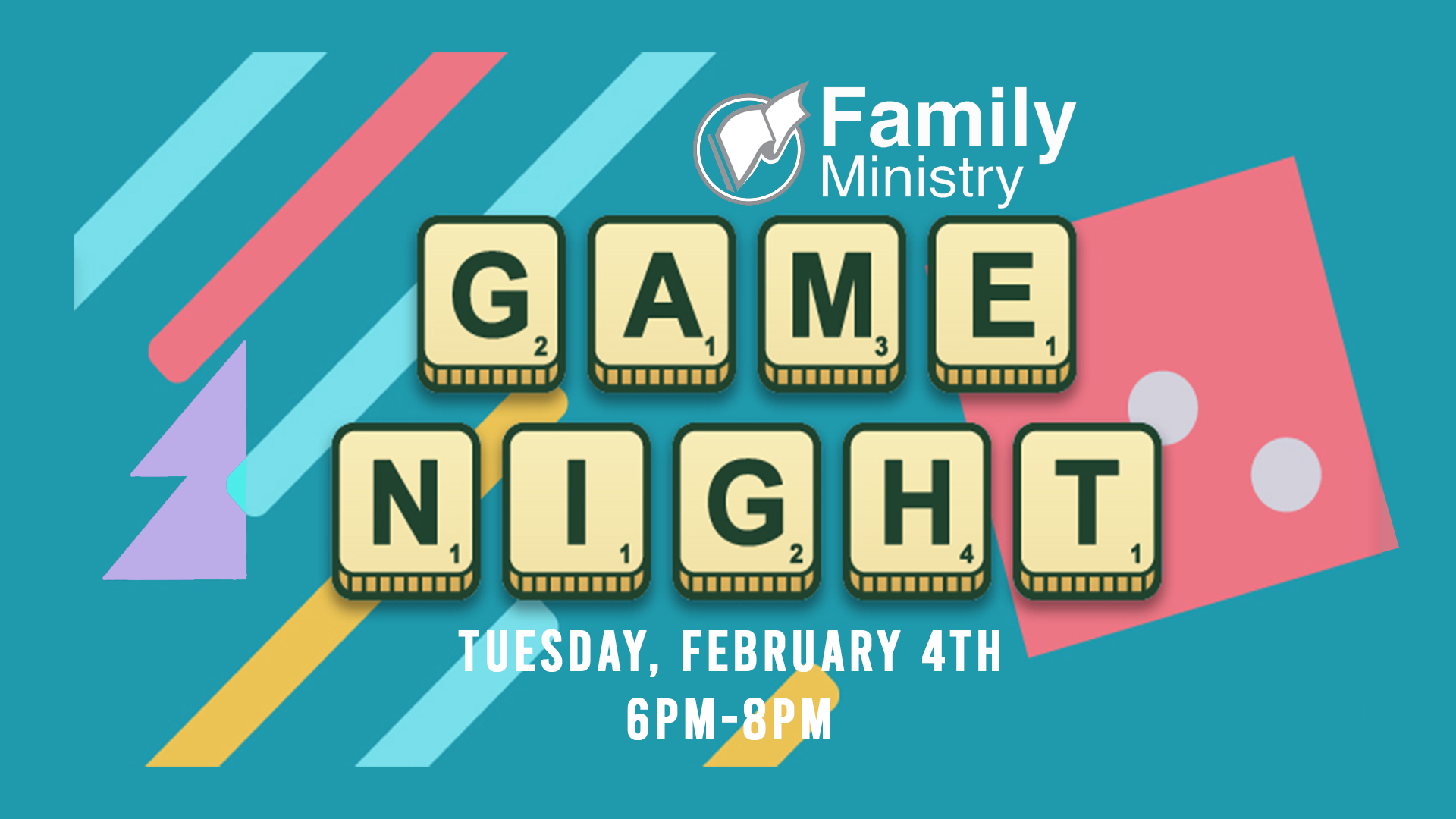 Family Game Night Graphic image
