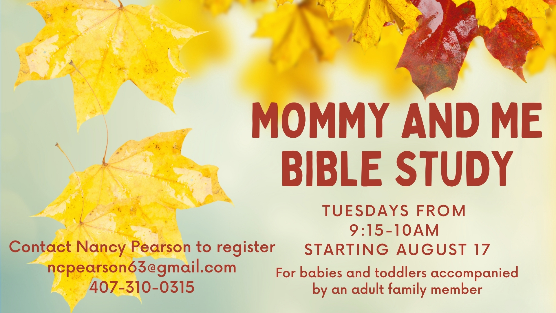 Mommy and Me Bible Study (1)