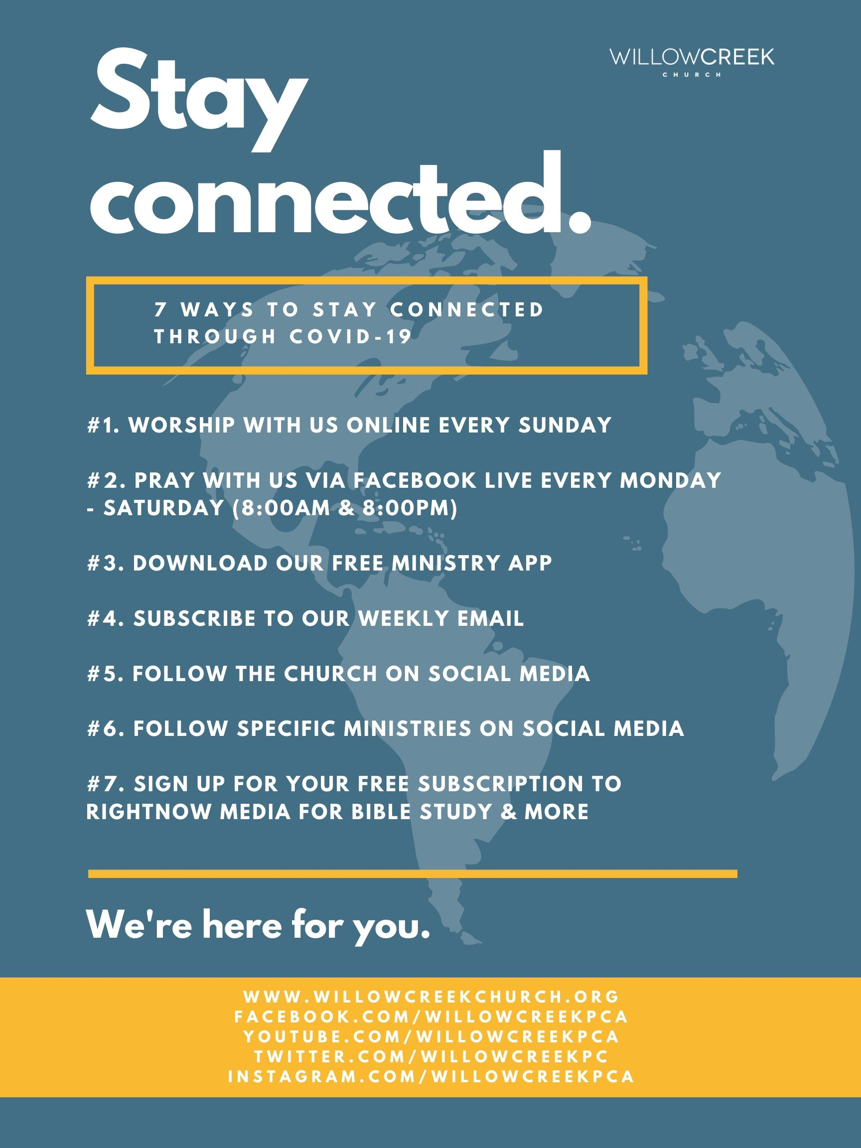 Stay connected. (1)