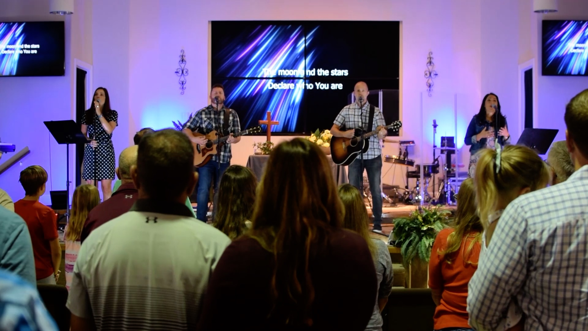 Praise Band from welcome video
