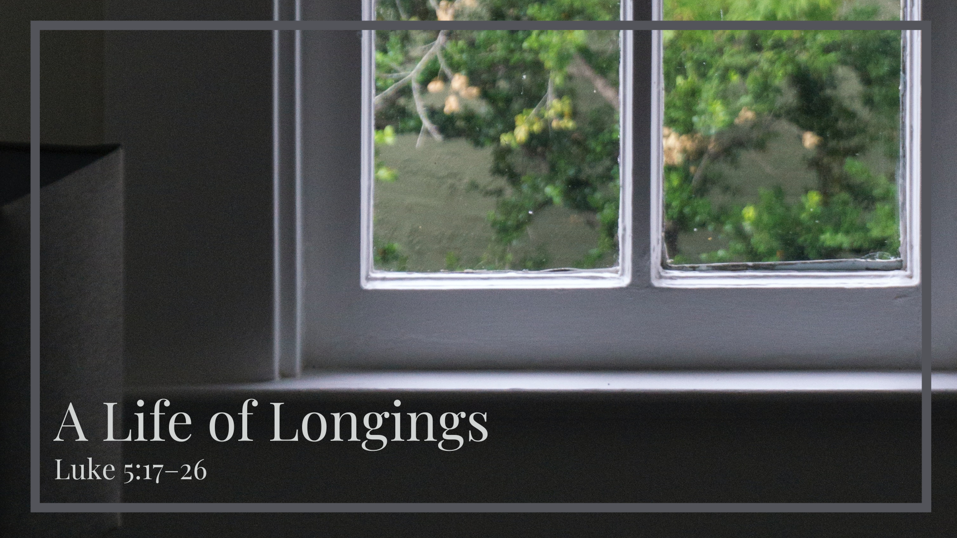 Copy of A Life of Longings