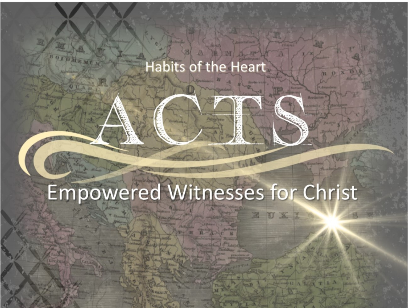 ACTS: Empowered Witnesses for Christ banner