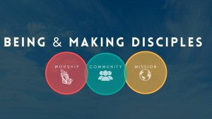 being and Making Disciples sermon main slide 3 circles 300x300