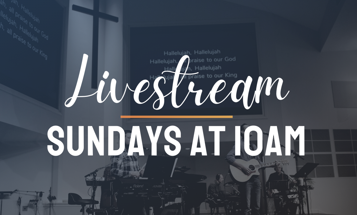 Join us at 10 AM on Sunday