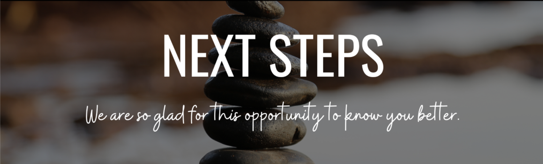 Next Steps page header graphic